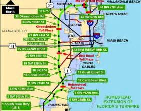 map of ta florida florida s turnpike t 225 fl 243 rida
