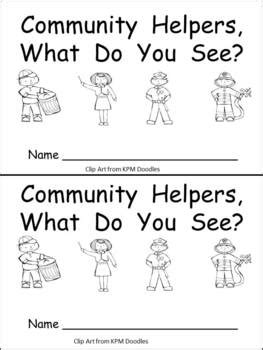 cellombies you seen one books community helpers what do you see kindergarten emergent
