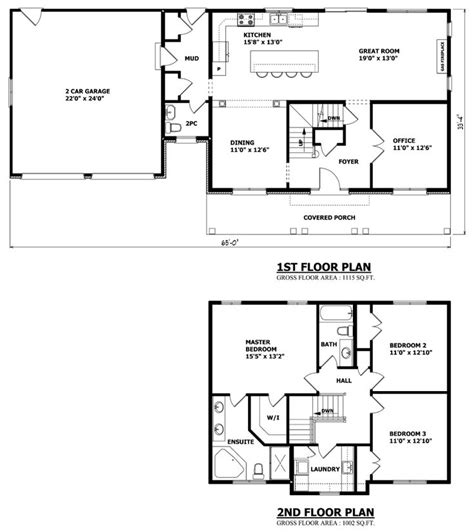 simple house floor plan best 25 two storey house plans ideas on house