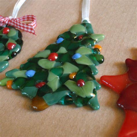 Handmade Glass Tree Decorations - handmade glass tree decoration by irena