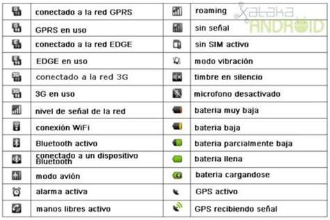 icones barra superior android primeros pasos con android la barra de notificaciones