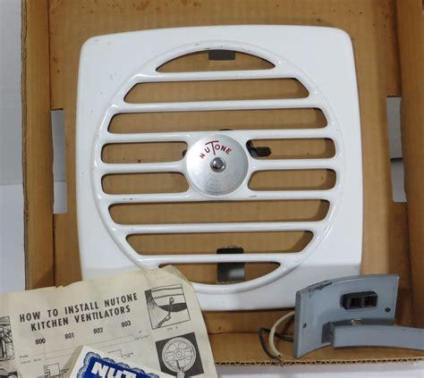 vintage nutone kitchen wall exhaust fan vintage 1950s kitchen exhaust fan nutone 8 inch wall vent