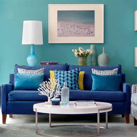 Teal Colour Scheme Living Room by Take On Turquoise Teal Walls In Living Room