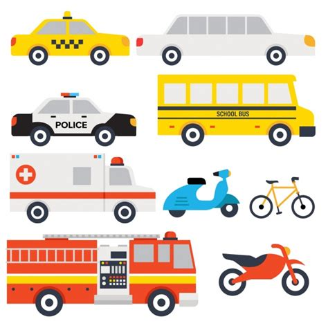 transport vehicles transport vehicles design vector free