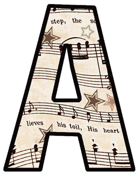 Printable Music Banner | artbyjean vintage sheet music set 003 vintage sheet