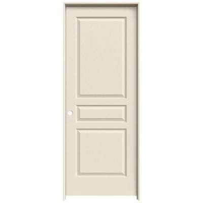 3 panel interior doors home depot jeld wen textured 3 panel primed molded single prehung