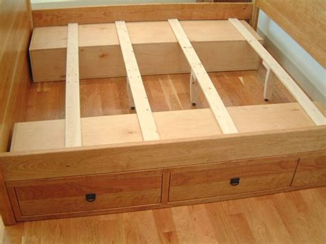 How To Make Drawers Bed by Bed Storage Diy
