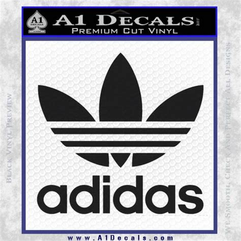 Kaos Adidas A1 Product Years adidas retro decal sticker 187 a1 decals