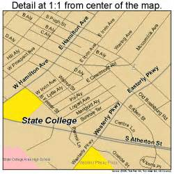 college and state map state college pennsylvania map 4273808