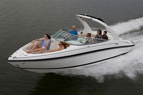 big boats are called rinker captiva 246 br a big and bold bowrider boats