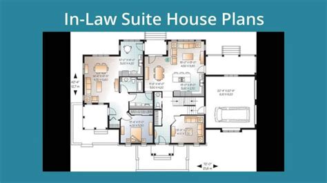 house plans with inlaw apartments inlaw design apartment in floor plan impressive