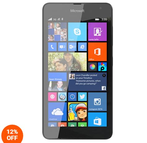 Hp Microsoft Lumia Rm 1090 harga microsoft lumia 535 rm 1090 black juni 2015 tabloidhh harga smartphone terbaru