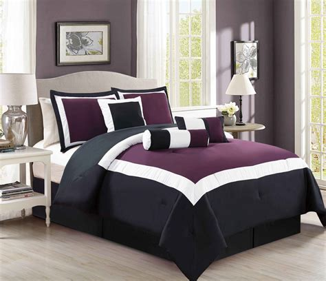 Purple And Black Bedding King by Purple And Black Bedding Sets Ease Bedding With Style