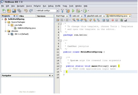 spring tutorial using netbeans coding together spring framework with netbeans 7 0 tutorial