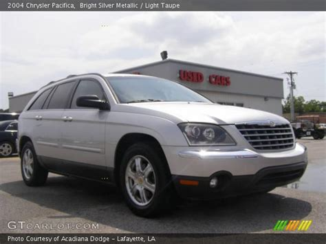 2004 chrysler pacifica light bright silver metallic 2004 chrysler pacifica light