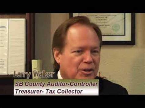 Walker County Tax Office by Larry Walker County Of San Bernardino Auditor Controller