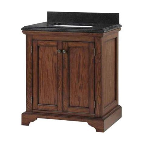 home decorators vanity home decorators collection cedar cove 30 in vanity in oak