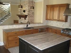 kitchen 3 cm silver travertine
