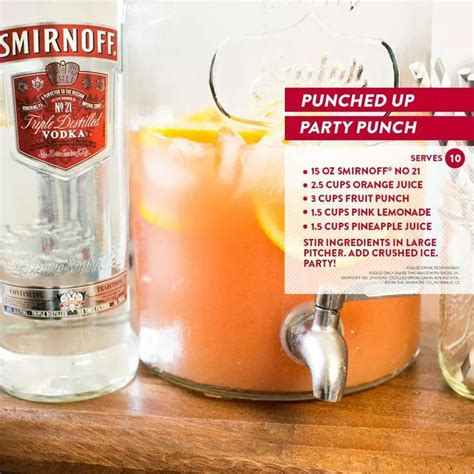 alcoholic punch for punched up punch
