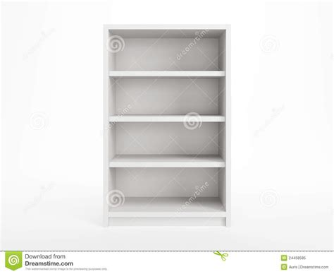 witte boekenkast witte boekenkast stock illustratie afbeelding bestaande