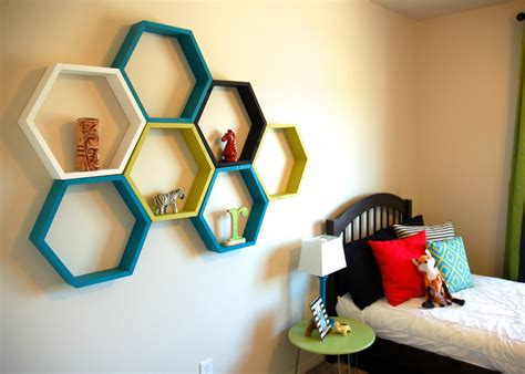 restlessrisa hexagon honeycomb shelf tutorial