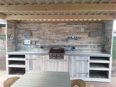 pallet kitchen cabinets diy outdoor kitchen made of old pallets pallets pinterest