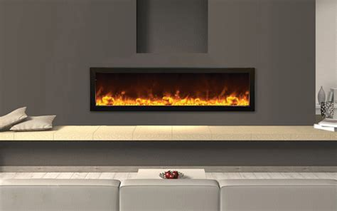 amantii built in electric fireplaces indoor