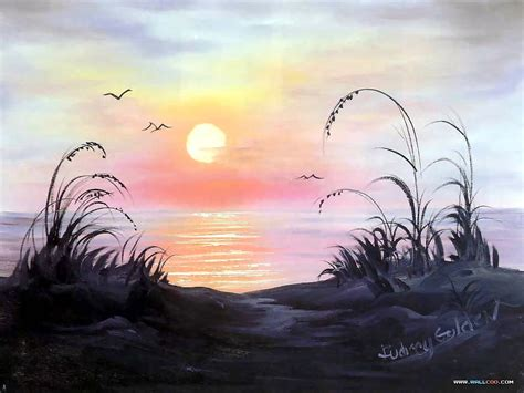 bob ross paintings hd bob ross s lanscape painting wallpapers