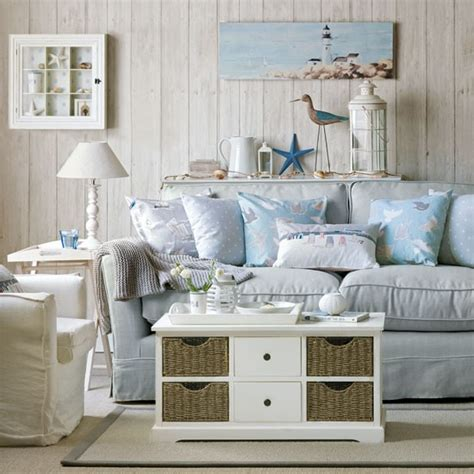 ocean themed living room home furniture decoration coastal style sofas