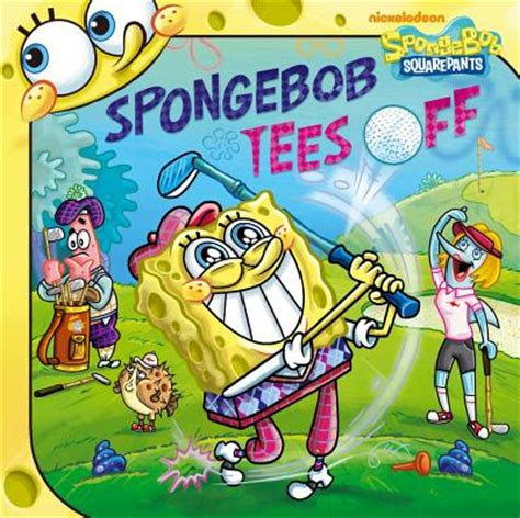 spongebob tees off paperback oblong books music