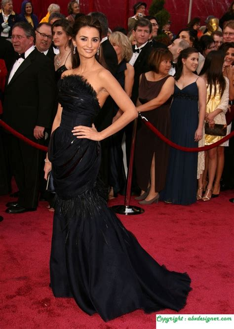 Which Of Penelopes Oscar Dresses Was The Most Fab by What Will Penelope Bring To The Oscars Abx Designer