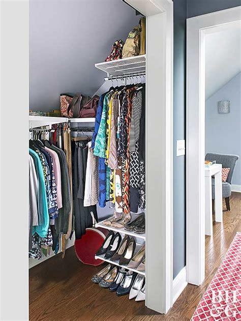 Perpendicular Closet Rod by Small Walk In Closet Design Ideas