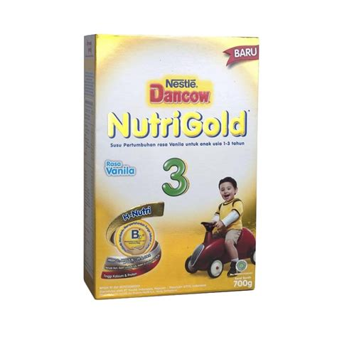 Dancow 3 Vanilla By Mk by Jual Nestle Dancow Nutrigold 3 Vanilla 700 G
