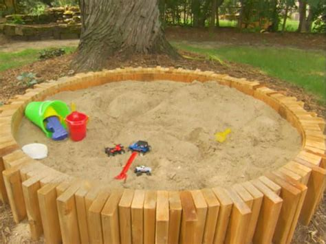 backyard sandbox ideas bring the beach in your backyard amazing diy sandbox