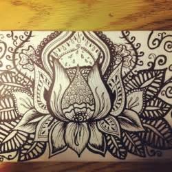 Lotus Flower Doodle Lotus Flower Drawing Doodle De Doodle Do