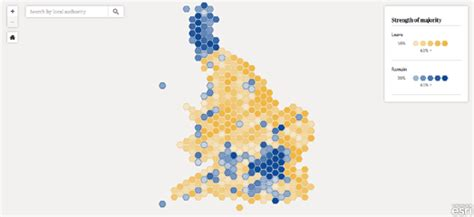 map uk remain leave maps mania who voted to leave the eu