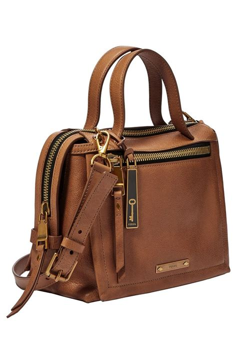 Fossil Tote Bag Leather fossil leather satchel bags dayony bag