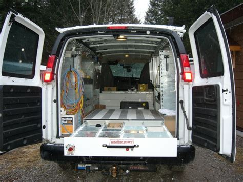 Plumbing Truck Setup by Cargo Set Up Vehicles Contractor Talk