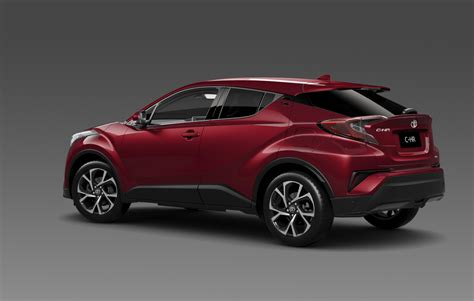 suv toyota chr australian details for new toyota c hr announced