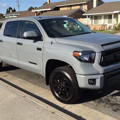 tundra trd pro   color code cement clyde
