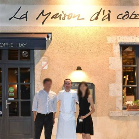 with owner and chef hay picture of restaurant la