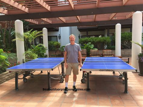 table cornilleau outdoor cornilleau 500m crossover outdoor ping pong table