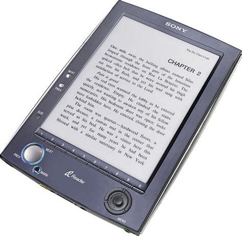 format sony ebook reader sony reader l e book reader registra ottime vendite