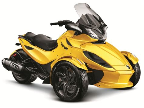 2013 can am spyder st 3 wheeled tourer motorcycle