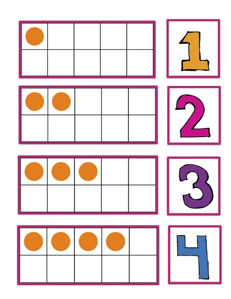 printable number cards chicka boom number cards preschool printables