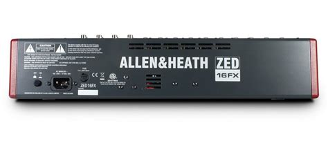 Mixer Allen Heath Zed 1200 Fx frompo home page