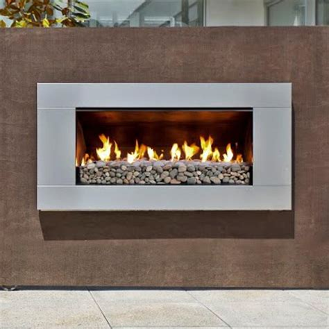 escea ef5000 outdoor propane fireplace stainless steel