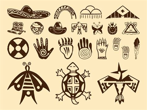 rosetta stone native american hieroglyphs clipart native american pencil and in color
