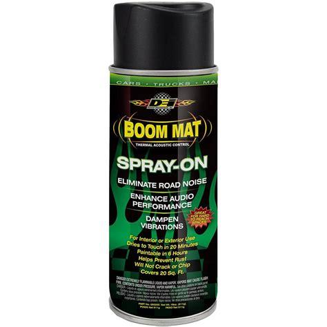 mat spray dei 050220 boom mat spray on dei ca automotive