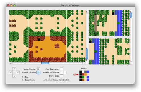 legend of zelda overworld map pdf index of romhack zelda1
